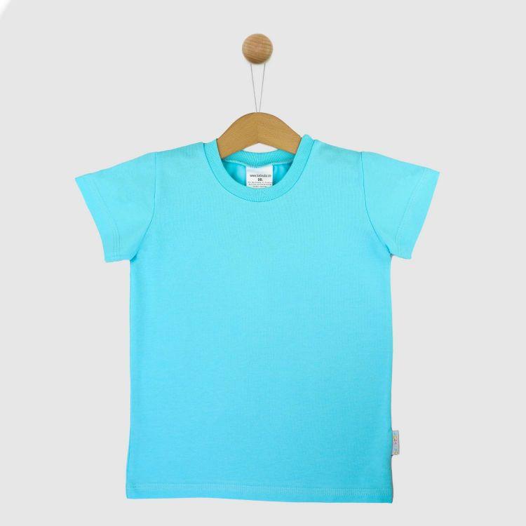 Uni-T-Shirt Babyblau