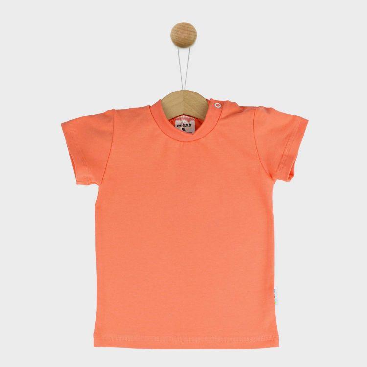 Uni-T-Shirt Pfirsich