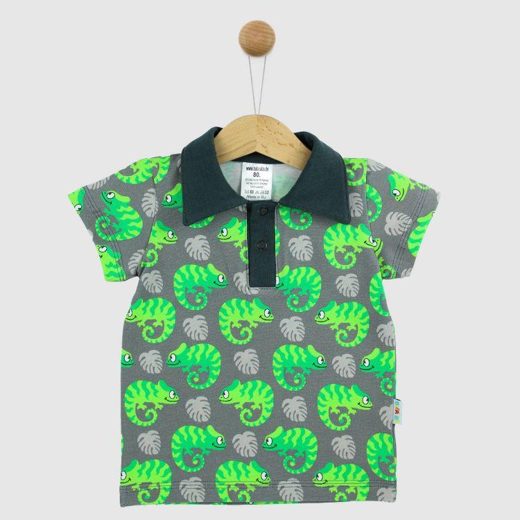 Poloshirt ExoticChameleons-Green