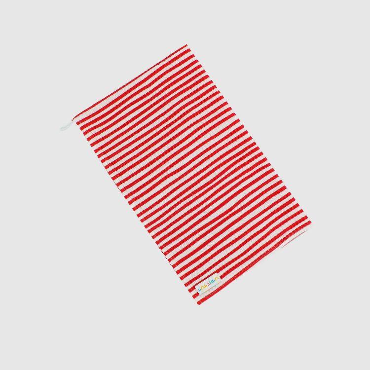 Geschirrtuch Stripes-RedWhite