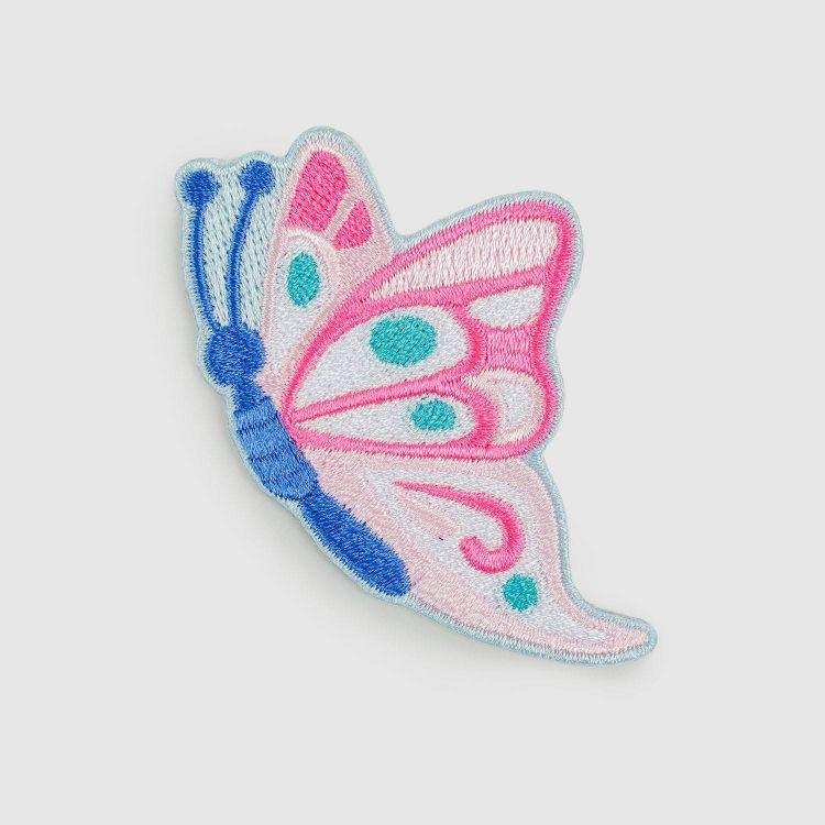 BabaubaBügelPatch ButterfliesAndDaisies