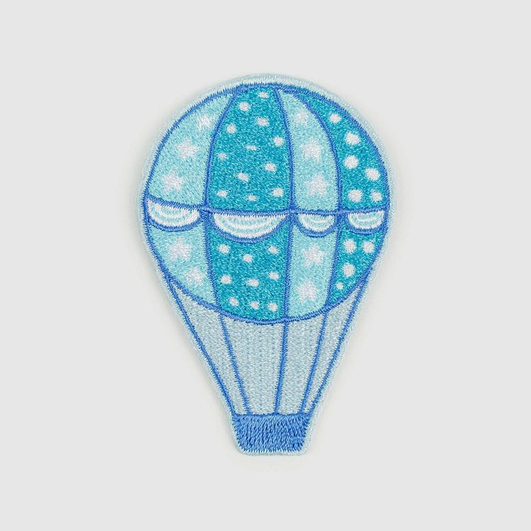 BabaubaBügelPatch BalloonsInTheSpring