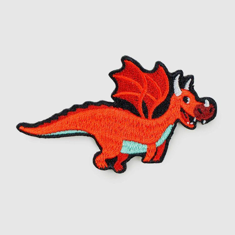 BabaubaBügelPatch DragonFriends