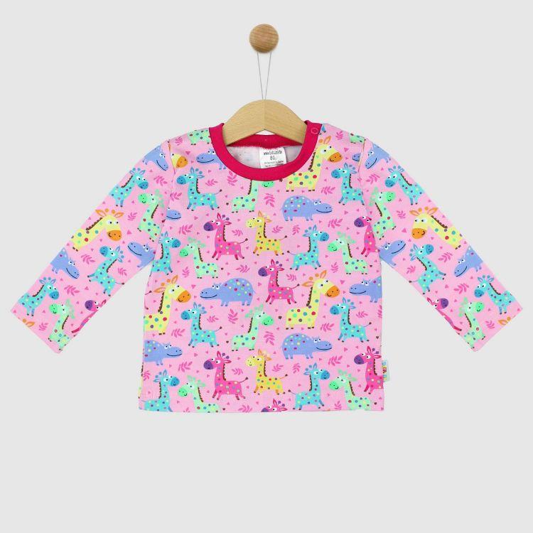 Langarmshirt-Extreme LittleSafari-Pink