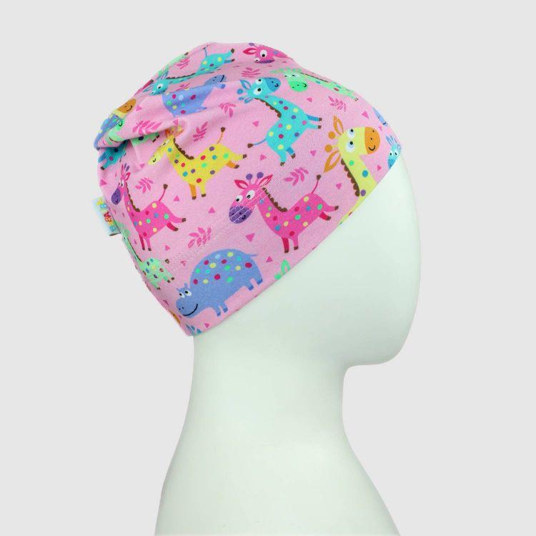 Beanie-ComfyStyle LittleSafari-Pink