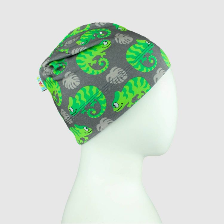Beanie-ComfyStyle ExoticChameleons-Green
