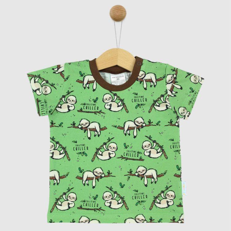 T-Shirt FulltimeChiller-Olivgrün