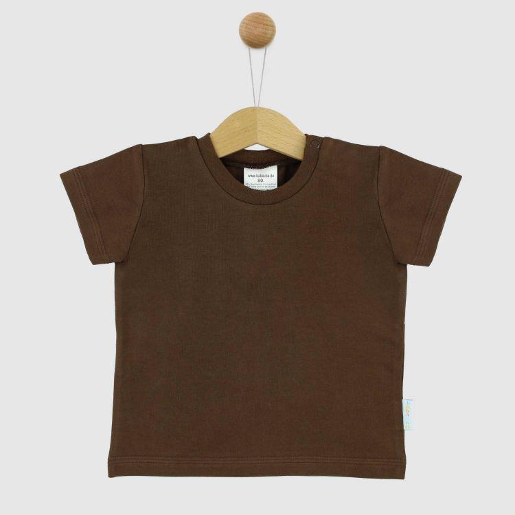 Uni-T-Shirt Schokobraun