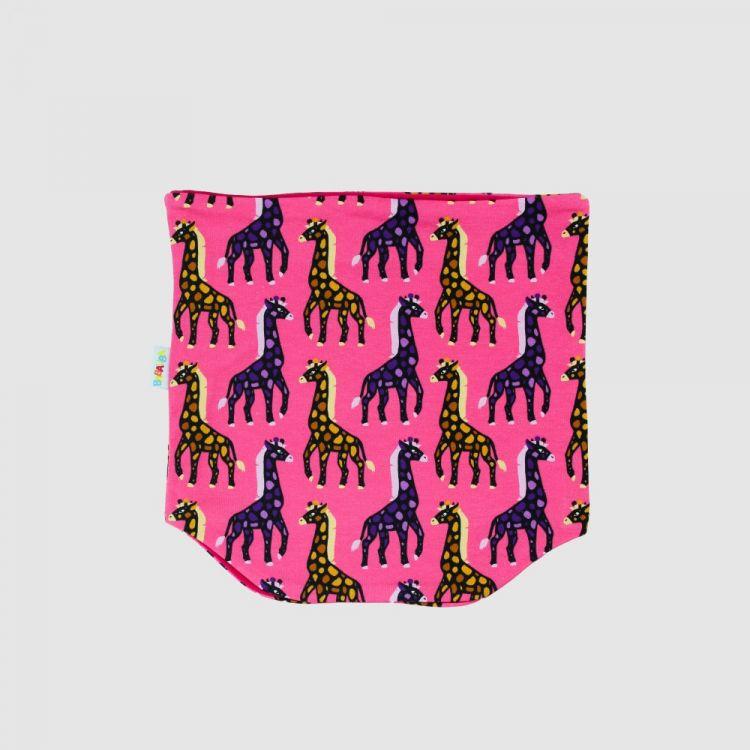 Loop-Schal MosaicGiraffs-Pink