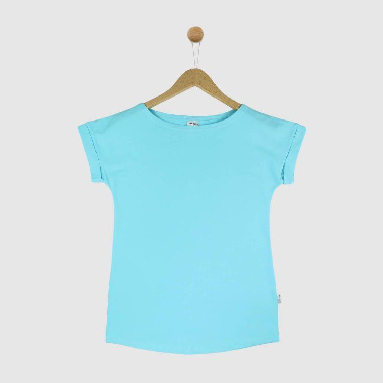 Uni-CasualWomanShirt 2.0 Babyblau