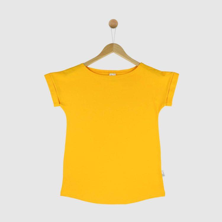 Uni-CasualWomanShirt 2.0 Currygelb