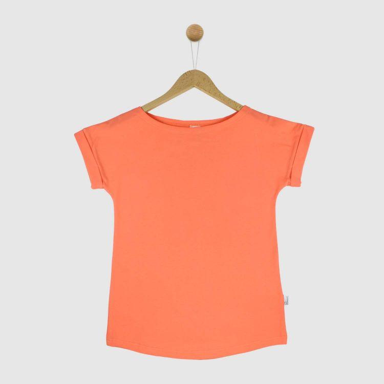Uni-CasualWomanShirt 2.0 Pfirsich