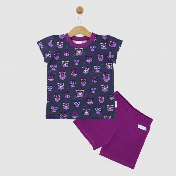 Pyjama-Set-Shortstyle NightOwls
