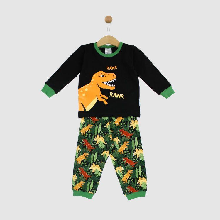 Motiv-Pyjama-Set JungleDinos