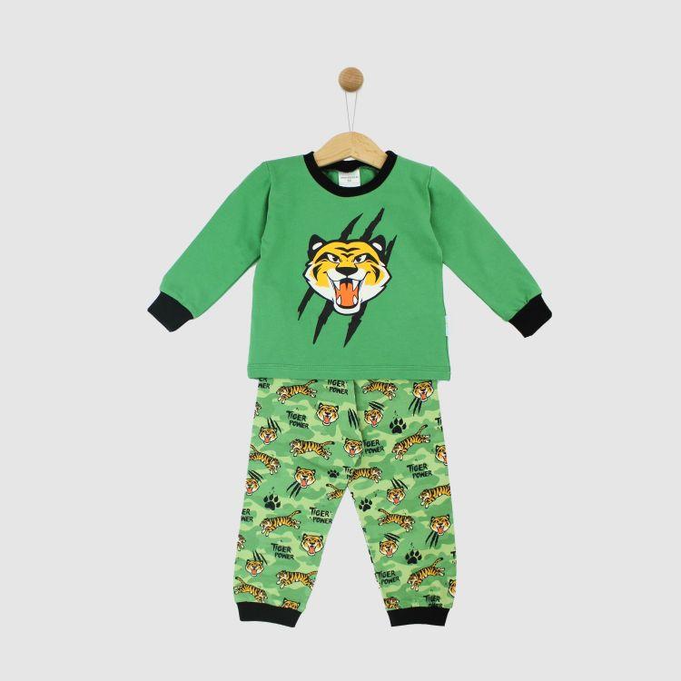 Motiv-Pyjama-Set TigerPower