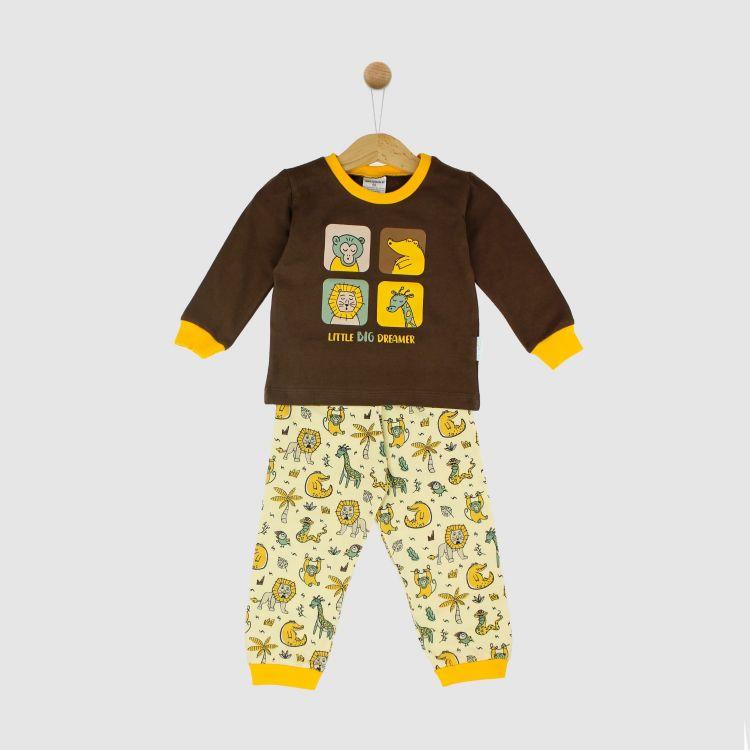 Motiv-Pyjama-Set WildAnimals