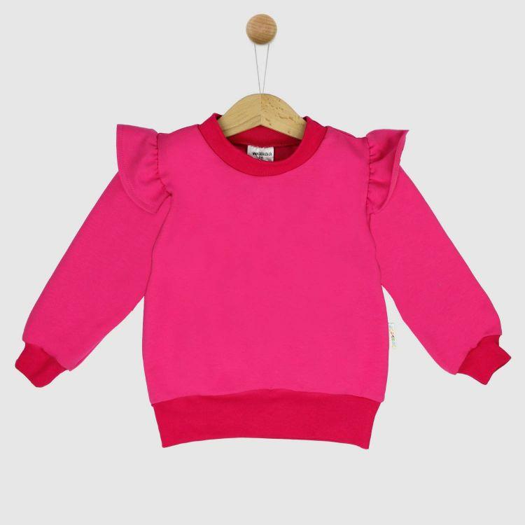 Uni-Volantsweater Cyklame