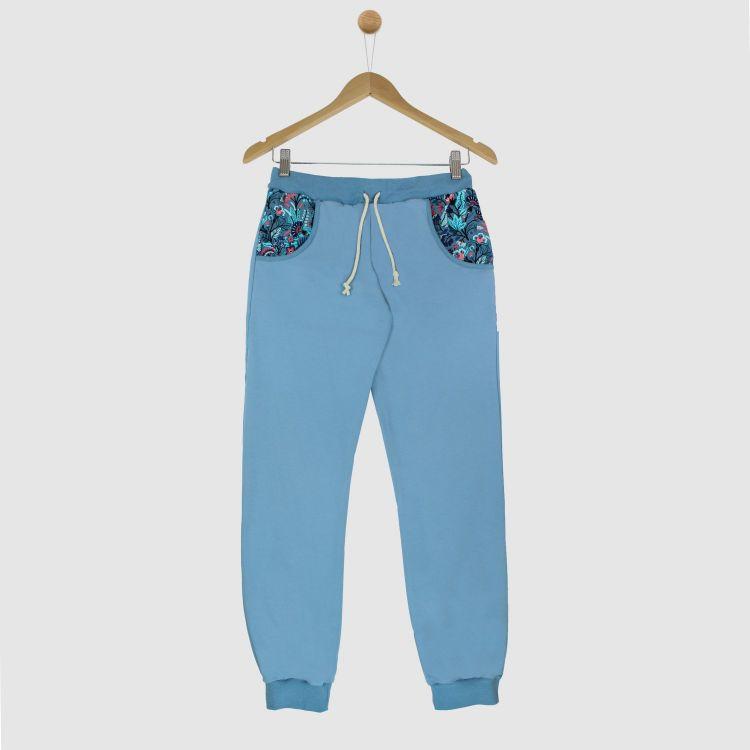 Woman-Jogginghose ColorfulSpring-Blue