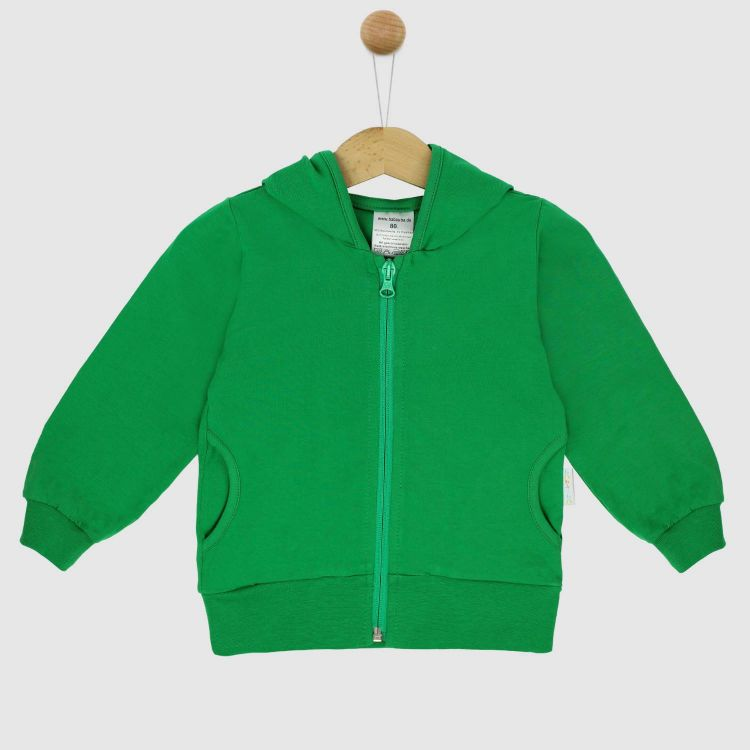 Uni-HoodieH1 Waldgrün