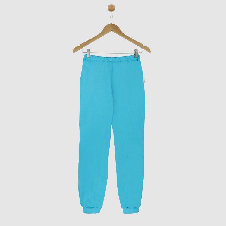 Uni-Woman-Schlafhose Azurblau