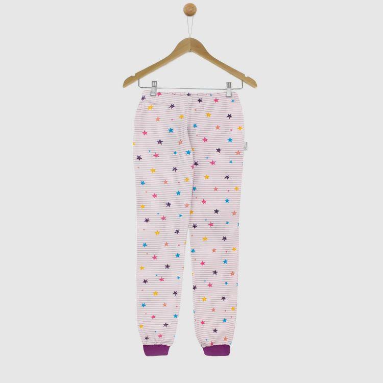 Woman-Schlafhose RainbowStars-RoseStripes