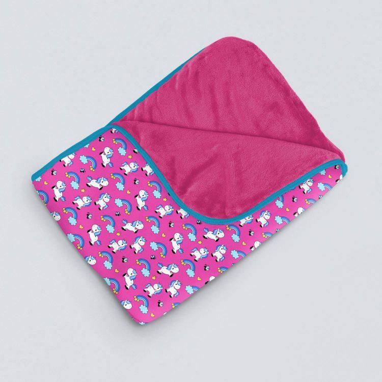 Kuscheldecke SuperXXL ChubbyUnicorns-Pink-PinkEdition