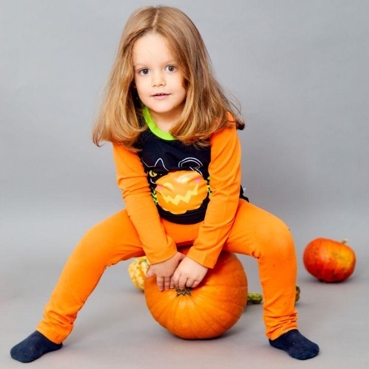 Langarmshirt Hero-ColourBlock BabaubaBlackCats-HalloweenEdition