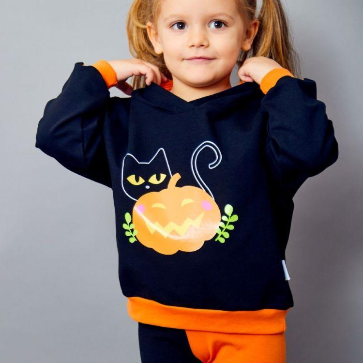 Motiv-Happy-Hoodie BabaubaBlackCats-HalloweenEdition