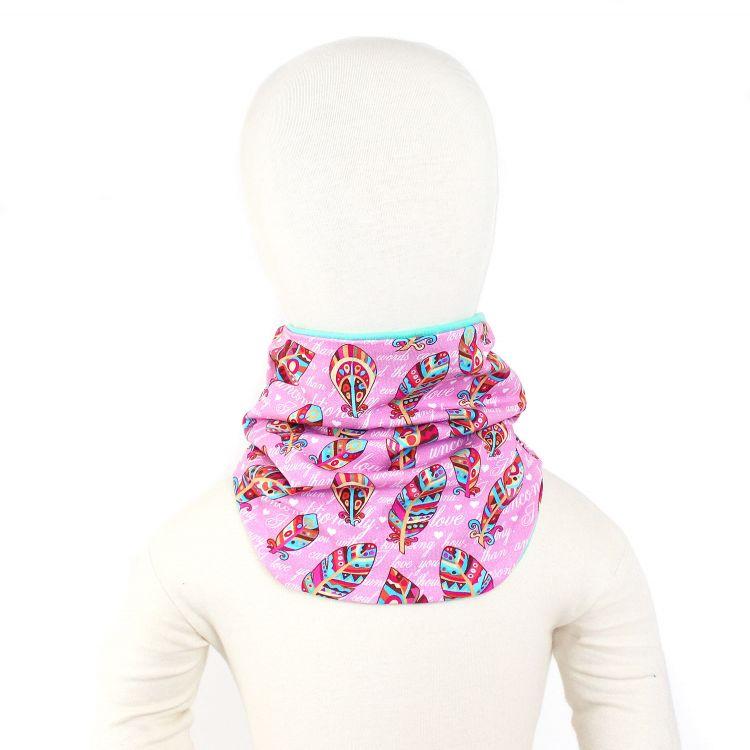 Winter-Loop-Schal UnconditionalLove-Pink