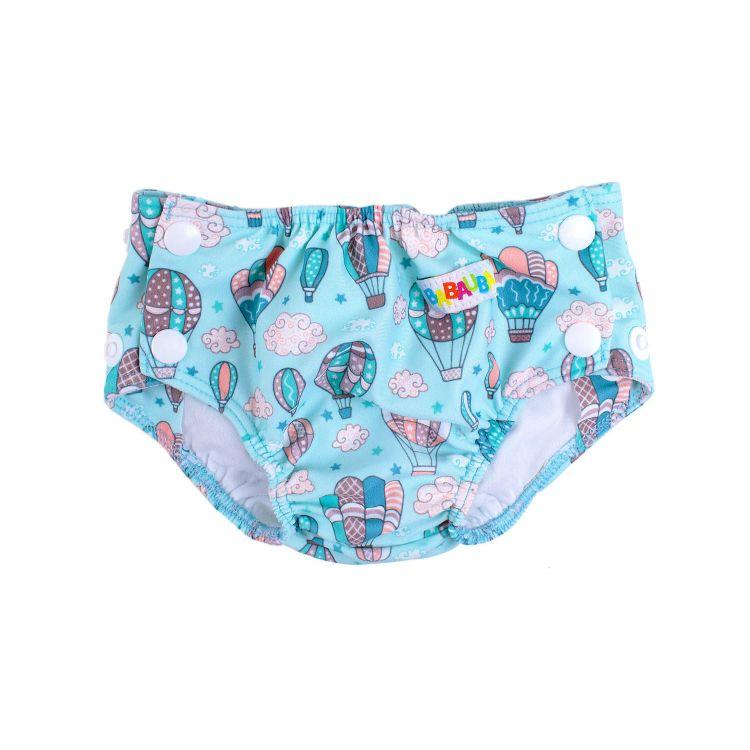 Baby-Schwimmwindel - MontgolfiereBalloons-Mint