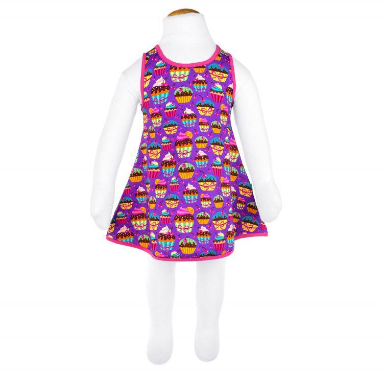 LittleMissSunshine-Dress BabaubaCupcakes