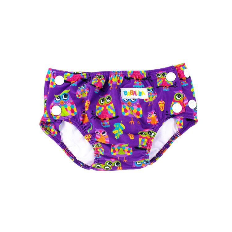 Schwimmwindel ColorfulHoots-Purple