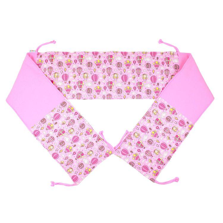 Bett-Nest MontgolfiereBalloons-Pink