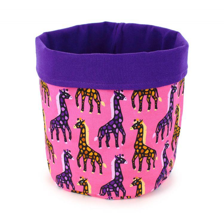 Utensilo X-Large - MosaicGiraffs-Pink