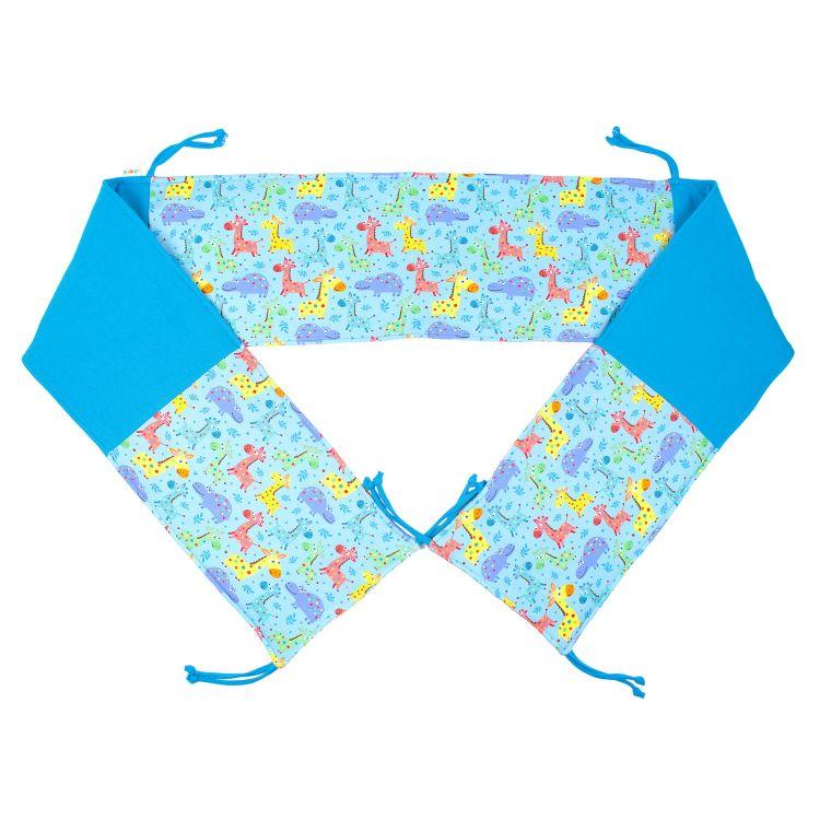 Bett-Nest LittleSafari-Blue