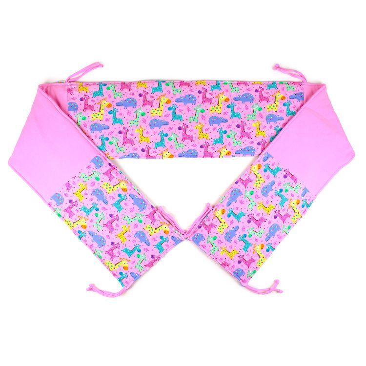 Bett-Nest LittleSafari-Pink