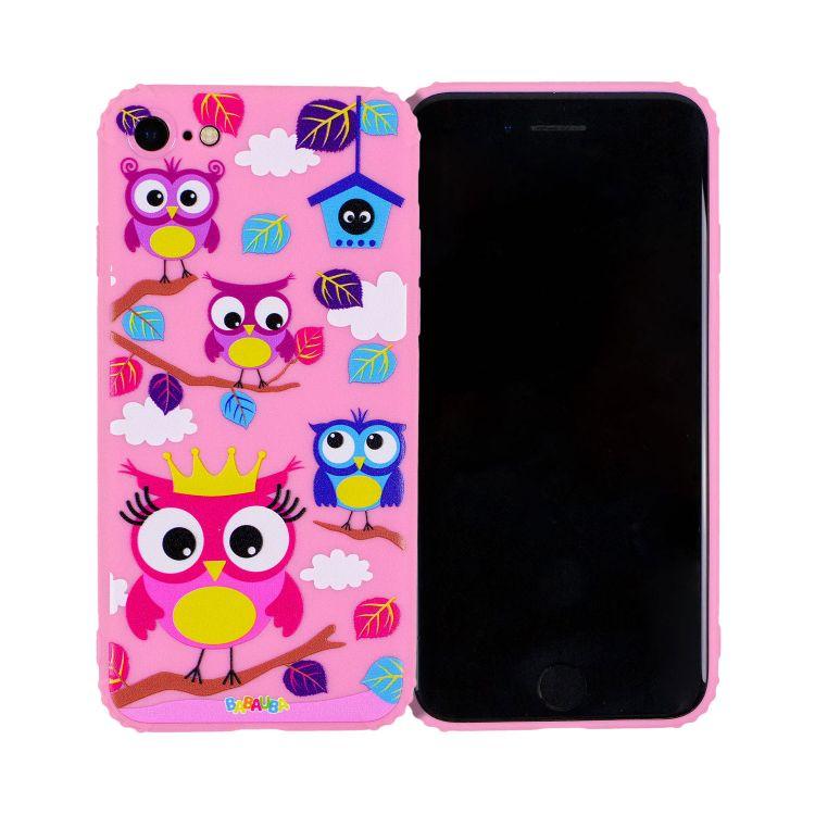 Smartphone-Cover BabaubaHoots-PinkEdition