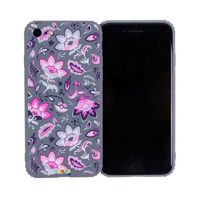 Smartphone-Cover PaisleyFlowers