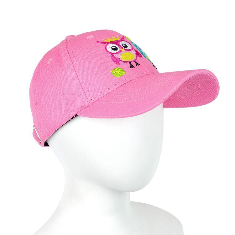 BaseballCap BabaubaHoots-Pink