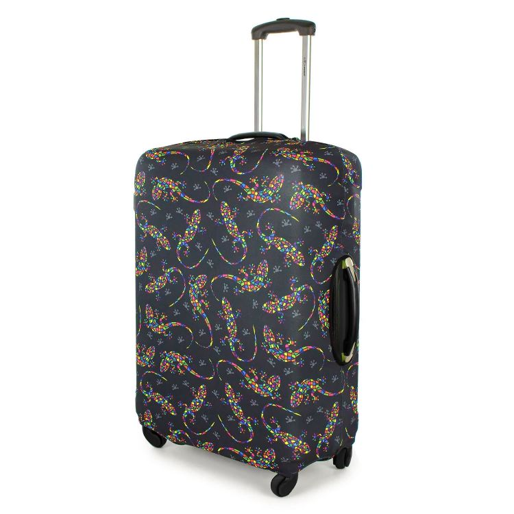 Kofferüberzug DiamantSalamander-Black