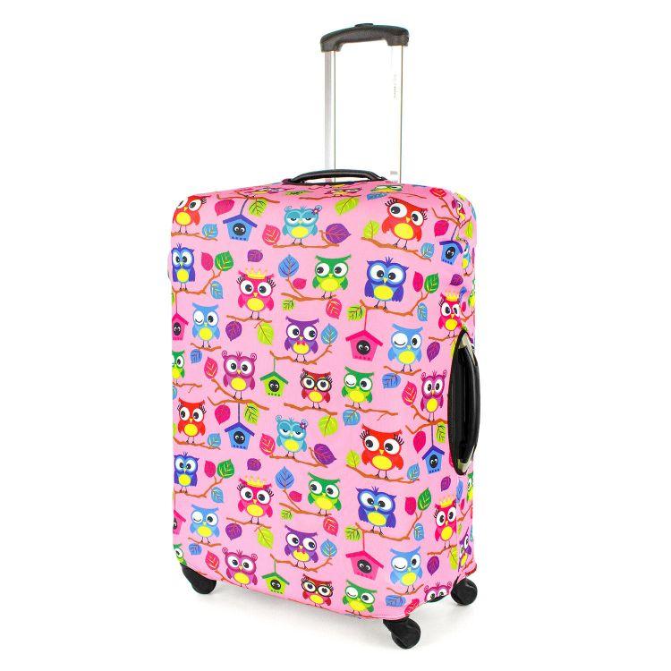 Kofferüberzug BabaubaHoots-Pink