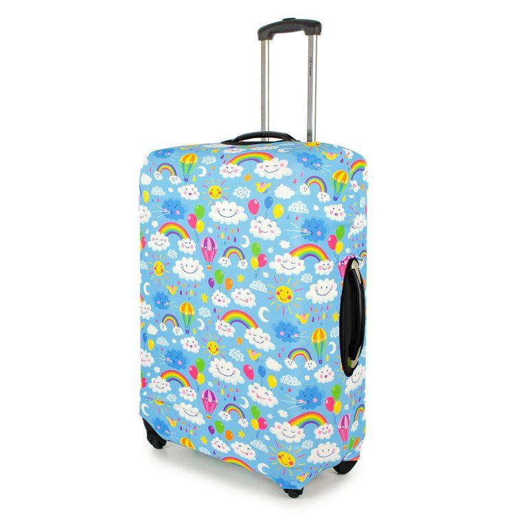 Kofferüberzug RainbowsAndClouds-Blue