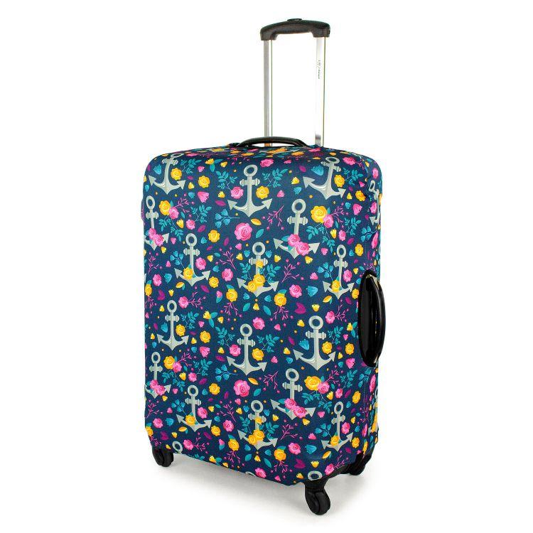 Kofferüberzug RosesAndAnchors