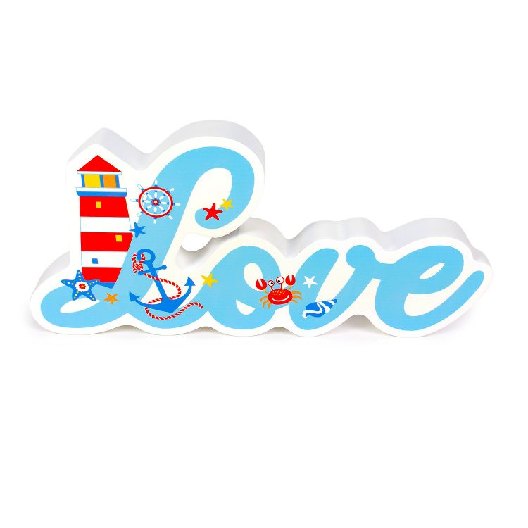 3D-Schriftzug Love BabaubaMaritimWorld