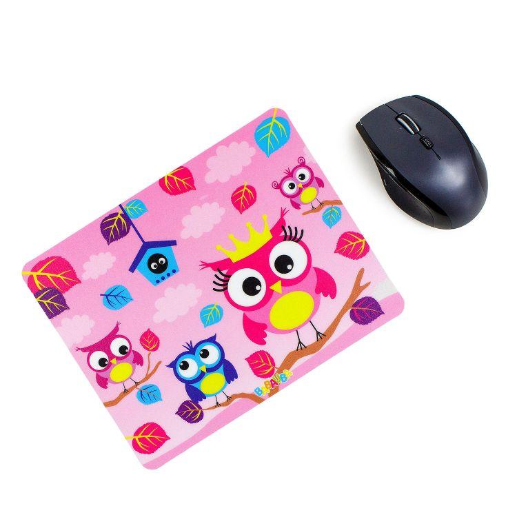 Mousepad BabaubaHoots-Pink