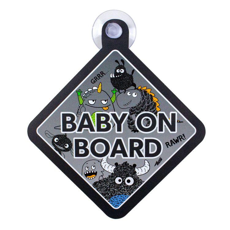 BabyOnBoard CoolMonsters