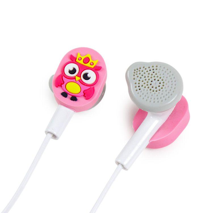 Kopfhörer BabaubaHoots-Pink