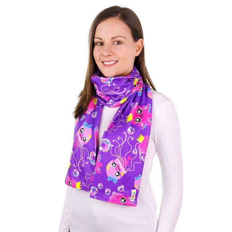 Frühlingsschal SweetOctopus-Purple