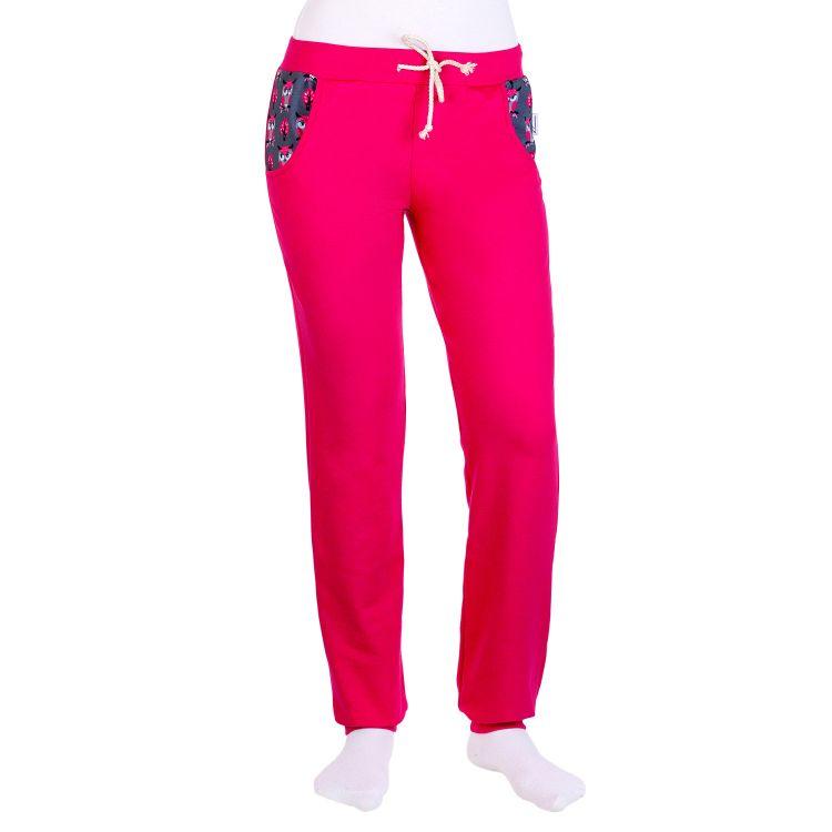 Woman-Jogginghose NobleHoots-Pink-CyklameEdition