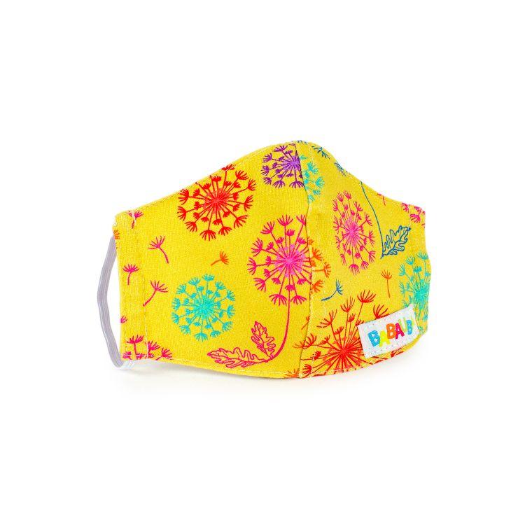 Mund- und Nasenmaske für Kinder mit Gummi - ColorfulDandelion